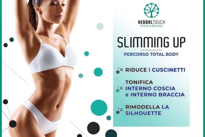 Percorso total body – Slimming Up: l'ultima novità di Herbal Touch